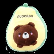 Avocado knuffel - Tik Tok Rage - XL 30 CM
